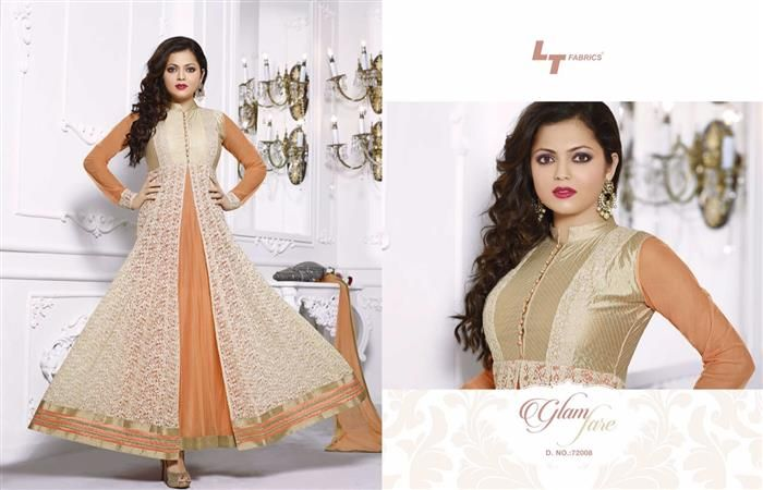 Glamorous Indian party wear suit dress