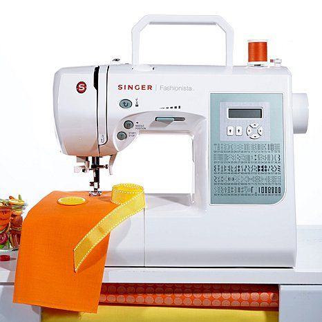 Singer® S800 Fashionista Electronic Sewing Machine with Value Adds at HSN.com, watching it on tv right now and I'm IN LOVE with it!!