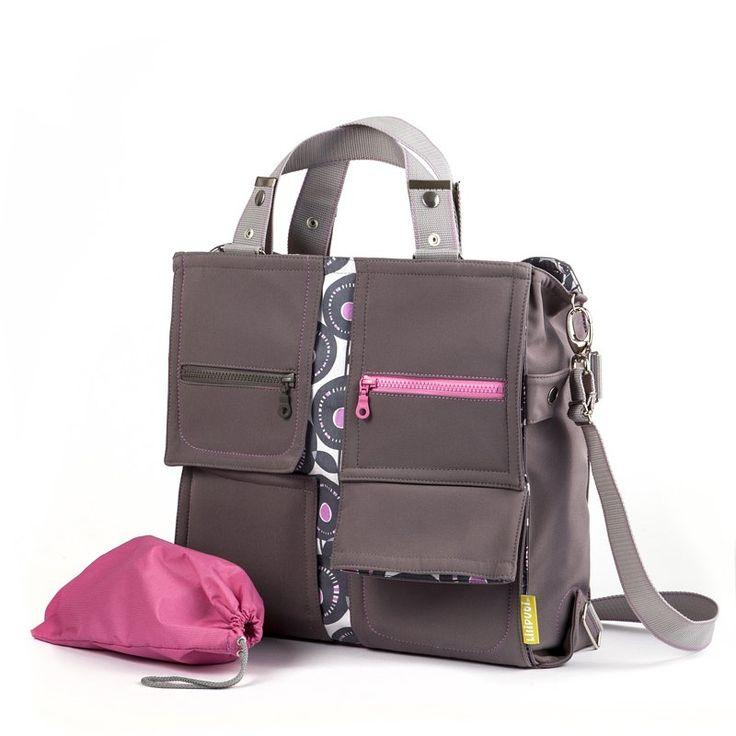 Liliputi® Mama Bag - Peony Diaper Bag - Babywearing & More! #liliputi #mamabag #diaperbag