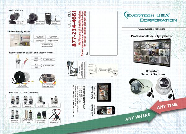 Evertech Brochure Front page by Mohammad Tuhin, via Behance