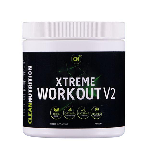 Clean Nutrition Xtreme Workout V2 Blueberry  Description: Xtreme Workout V2Xtreme Workout V2is onze sterkstepre-workout formulemet alleen de meest werkzame ingrediënten in een hoge dosering ontwikkeld in samenwerking metJoel Beukers. Wat Xtreme Workout V2 uniek maakt De exacte samenstelling staat op de verpakking. Let op! Er zitten geen onnodige vulstoffen in Xtreme Workout V2. Een eerlijk product waarin de dure ingrediënten hoog gedoseerd zijn. In veel pre-workout producten kan je uit de…
