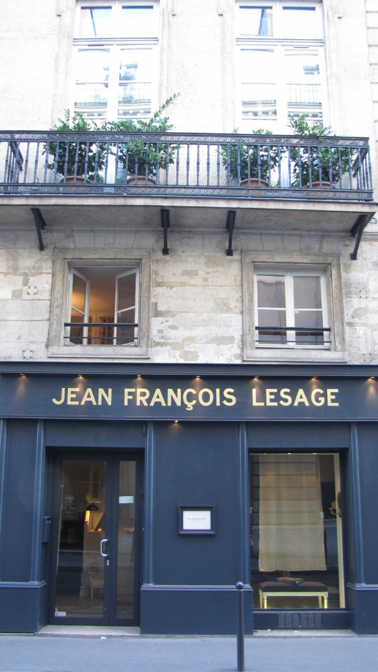 Jean Francois Lesage atelier