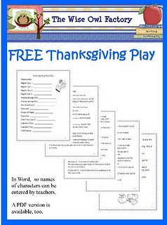 Free Thanksgiving Play - Pinned by @PediaStaff – Please visit http://ht.ly/63sNt for all (hundreds of) our pediatric therapy pins
