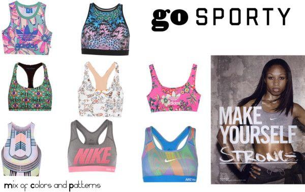 Printed Sport Bras