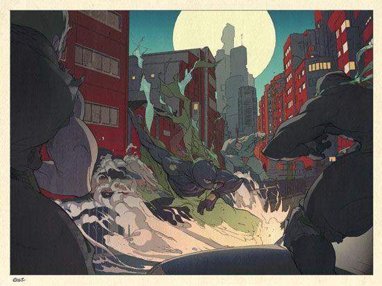 Folio illustration agency, London, UK   Gez Fry - Manga ∙ Anime ∙ Comic ∙ Contemporary ∙ Publishing ∙ Advertising - Illustrator