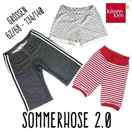 Freebook Summer Pants 2.0 – Anleitung – #FREEBOOK #Muster #Summer Pants – Kinder …   – Bikini Rezept