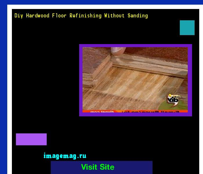 Diy Hardwood Floor Refinishing Without Sanding 133825 - The Best Image Search