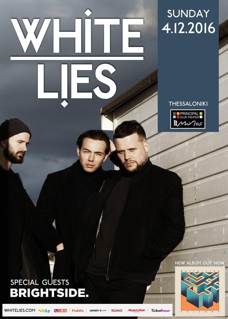 White Lies live in Thessaloniki (2016)