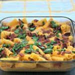 Instant Pot Buffalo Chicken Rigatoni Pasta with Bacon