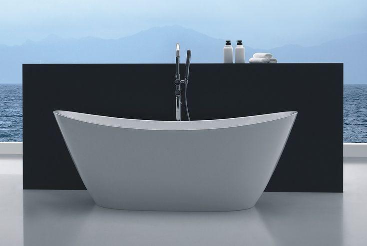 </br> <p><b>Produktbeskrivelse:</b></p> <p>Celeste Marsala badekar er en frittstående oval modell i 170 cm lengde. Badekaret leveres med justerbare ben som er skjult under akrylkaret. Badekaret i hvit akryl har høy slitestyrke med en blank overflate som