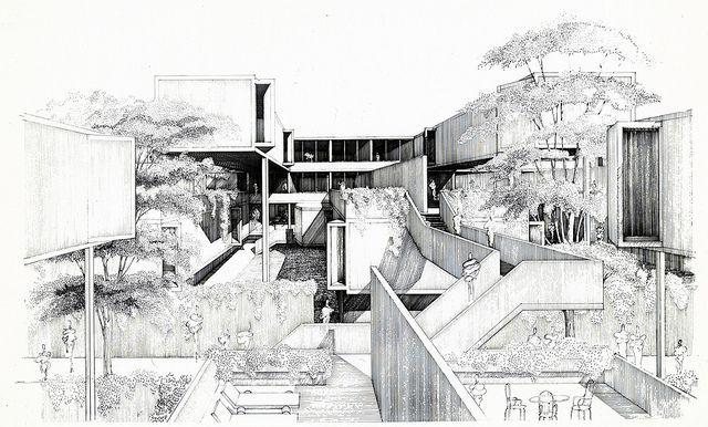 Paul Rudolph_Fort Lincoln housing development
