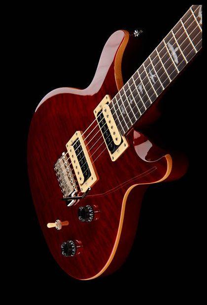 PRS SE Santana LTD Quilt Black Cherry, e-guitar, limited edition, colour: Black Cherry #prs #guitar #thomann