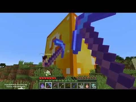 Minecraft: OMEGA MINING LUCKY BLOCK BEDWARS! - Modded Mini