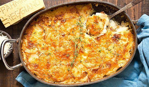 Πεντανόστιμες πατάτες ογκρατέν