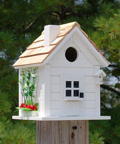 Trellis Cottage Bird House