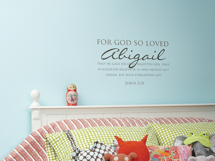 Have to get this for the girls room! You add your own child's name in it!