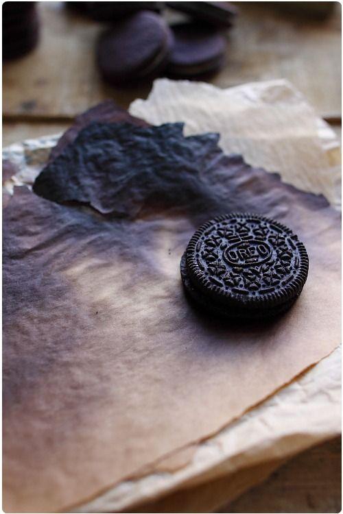 A force de voir sur les blogs anglophones des recettes incluant les Oreo, je me suis décidée à en acheter pour découvrir ces biscuits. Leur petite forme ro