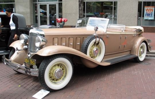 1931 Chrysler CL Custom Imperial Dual Cowl Phaeton by Le Baron