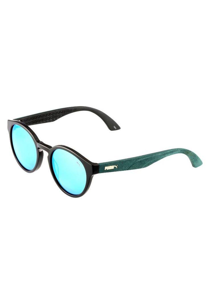 Puma. Occhiali da sole - black/green. #occhialidasole #sunglasses #zalandoIT #fashion #moda Protezione UV:Sì. Astine:14 cm nella taglia One Size. Ponte:2.1 cm nella taglia One Size. Larghezza:14 cm nella taglia One Size. Fantasia:monocromo