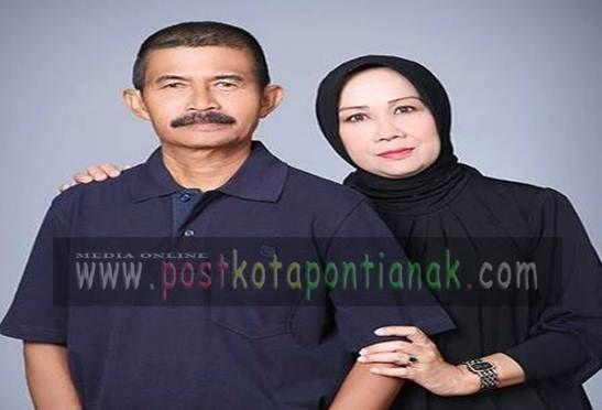 Drs Budiman Tahir.Msi dan Istri./Luk