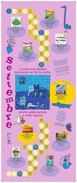 Calendario Nati per Leggere e Nati per Musica in Sardegna 2013: SETTEMBRE