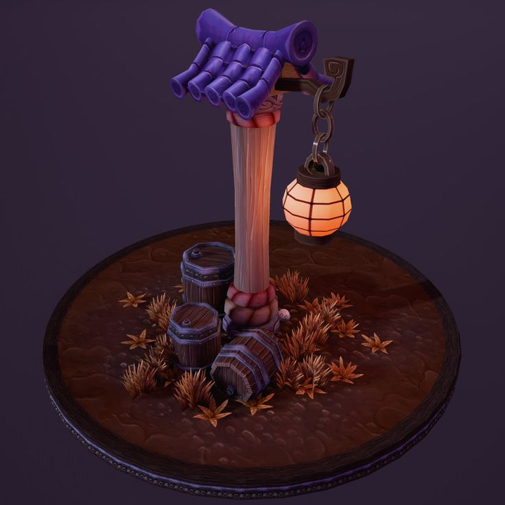 Tiling Texture Dioramas, Ren Phillips on ArtStation at https://www.artstation.com/artwork/tiling-texture-dioramas