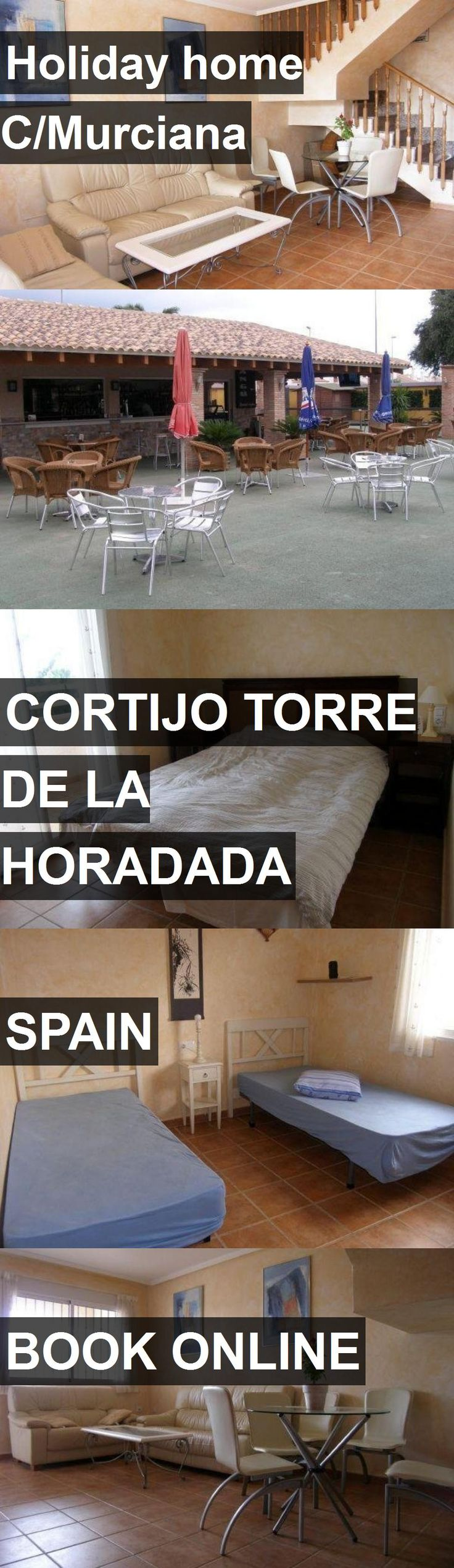 Hotel Holiday home C/Murciana in Cortijo Torre de la Horadada, Spain. For more information, photos, reviews and best prices please follow the link. #Spain #CortijoTorredelaHoradada #travel #vacation #hotel