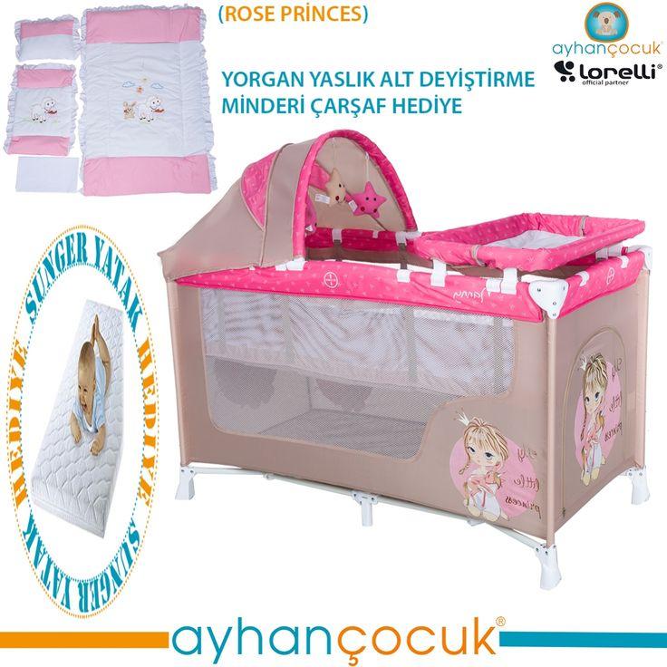 Lorelli Nanny 60x120 Oyun Parkı Yatak Beşik Hediyeli - Ayhan Çocuk | Anne ve Bebek Ürünleri Mağazası - Kampanyalar