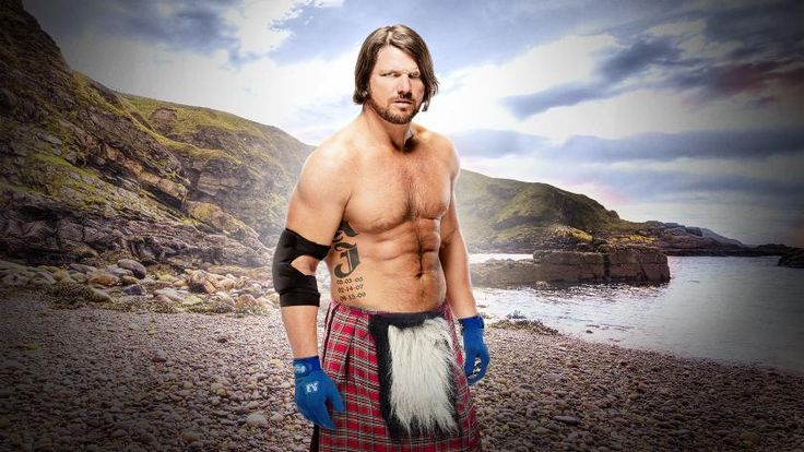 """The Champ that Runs the Camp,"" AJ Styles, brings the WWE World Title to Scotland for SmackDown LIVE this Tuesday."