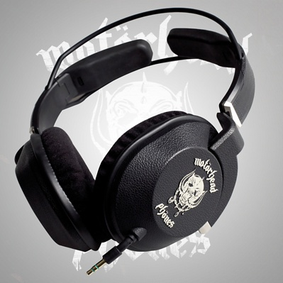 Motorheadphones - Full approved by the boys themselves, these cans are designed to handle some serious rocking and provide exceptional sound quality.