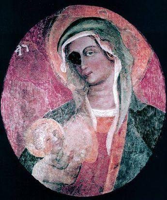 La storia della Vergine dall'occhionero