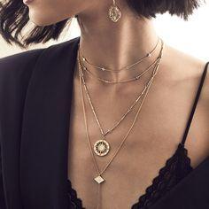 Solis Gold Necklace