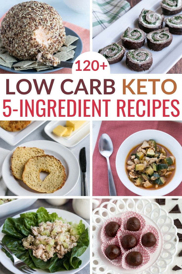 Easy And Delicious Keto Five Ingredients Or Less Recipes There S