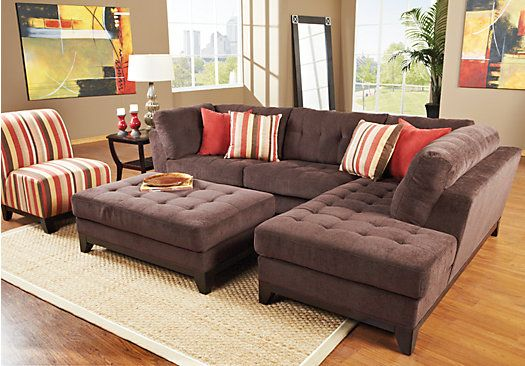 25 best ideas about chocolate living rooms on pinterest What color compliments brown furniture