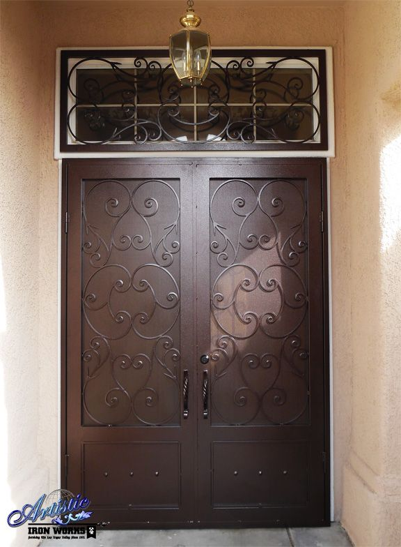 242 best images about wrought iron security doors on pinterest for Double screen doors