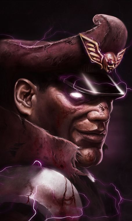 Gallery | Street Fighter 25th Anniversary  Bison  Follow BornFreePin ;-)