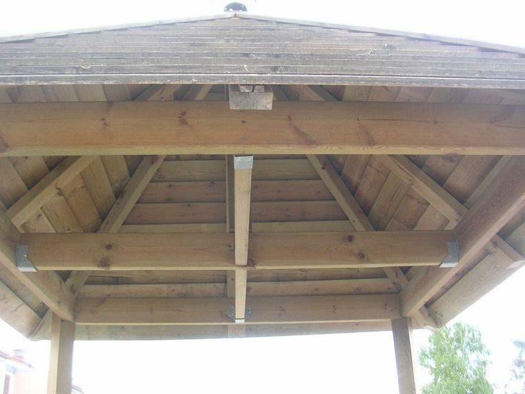 Details from the roof over the well.