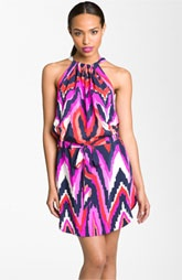 ALICE & TRIXIE 'Jillian' Print Silk Halter Dress: Silk Halter, Prints Silk, Snap Shots, Halter Dressal, Trixi Snap, Ikat Prints, Trixi Jillian, Style Pinboard, Halter Dresses