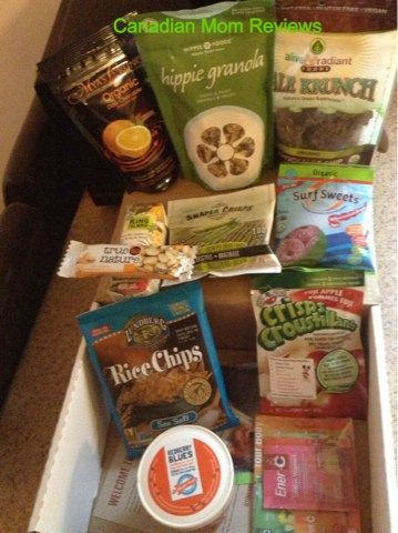 Snackbox subscription box review & giveaway