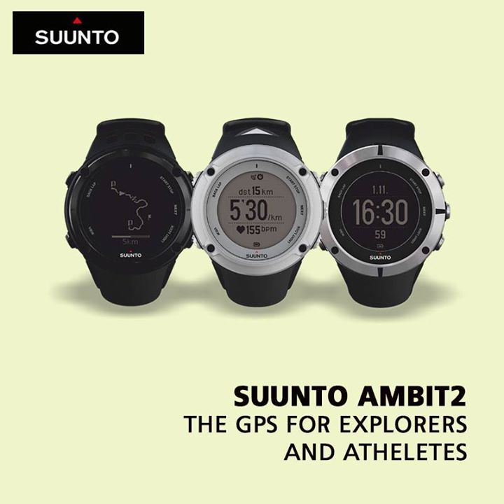All you need for outdoor sports adventures - 'Suunto Ambit2'. Add it to your wardrobe.