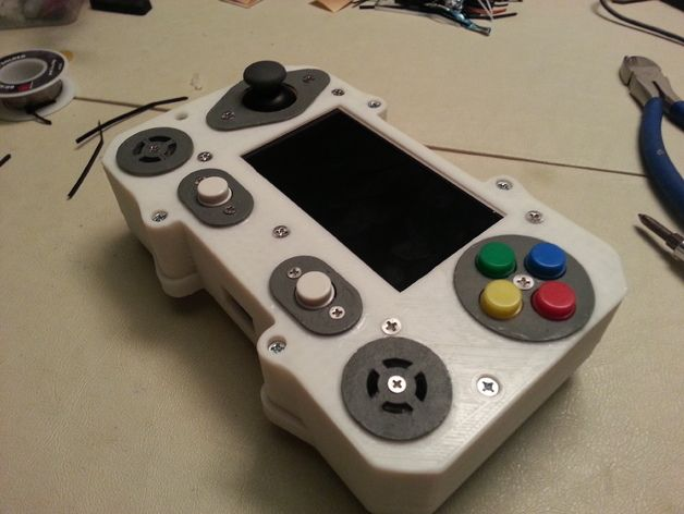 3Derp's PortaBerry Pi brings the retro gaming fanatic's wildest dreams to life. It's a complex project, but it's absolutely worth the trouble.   http://www.thingiverse.com/thing:321624