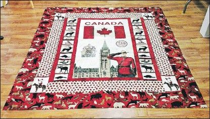Image result for canada 150 quilts