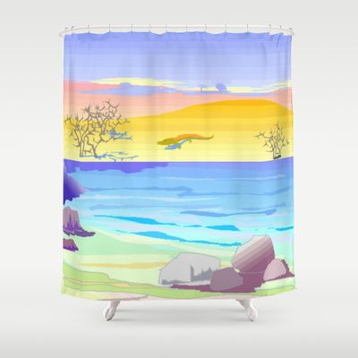 Painting Shower Curtain by Elena Indolfi - $68.00