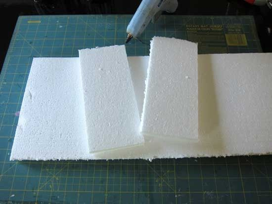 How to make a window valance from foam board :-)