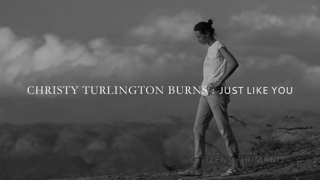 Chirsty Turlington Burns is the latest to appear in the Citizens of Humanity documentary series 'Just Like You', The series from Citizens of Humanity document people with incredible levels of passion; people they admire; and who share thoughtful ideas about life, the pursuit of their dreams and the challenges to become Citizens of Humanity.