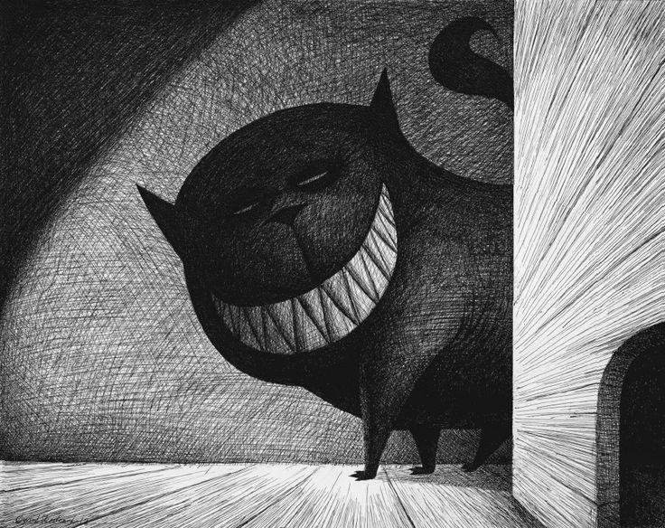 Drawing,pen by Øyvind Westgård