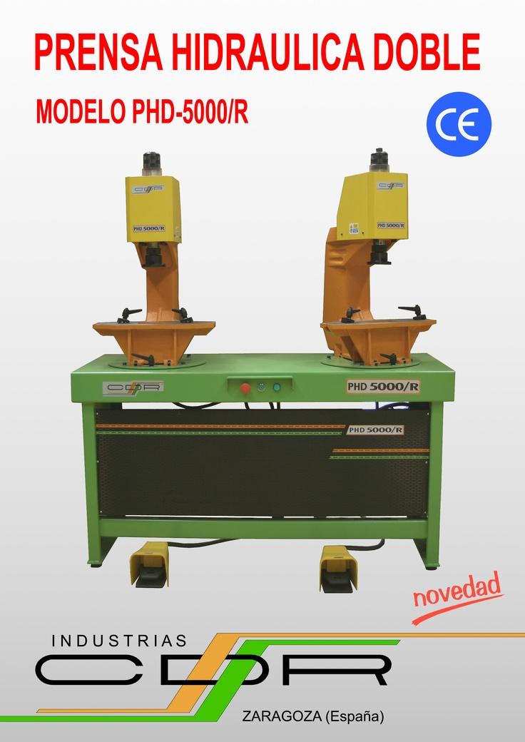 Prensa Hidráulica Doble Modelo PHD-5000/R
