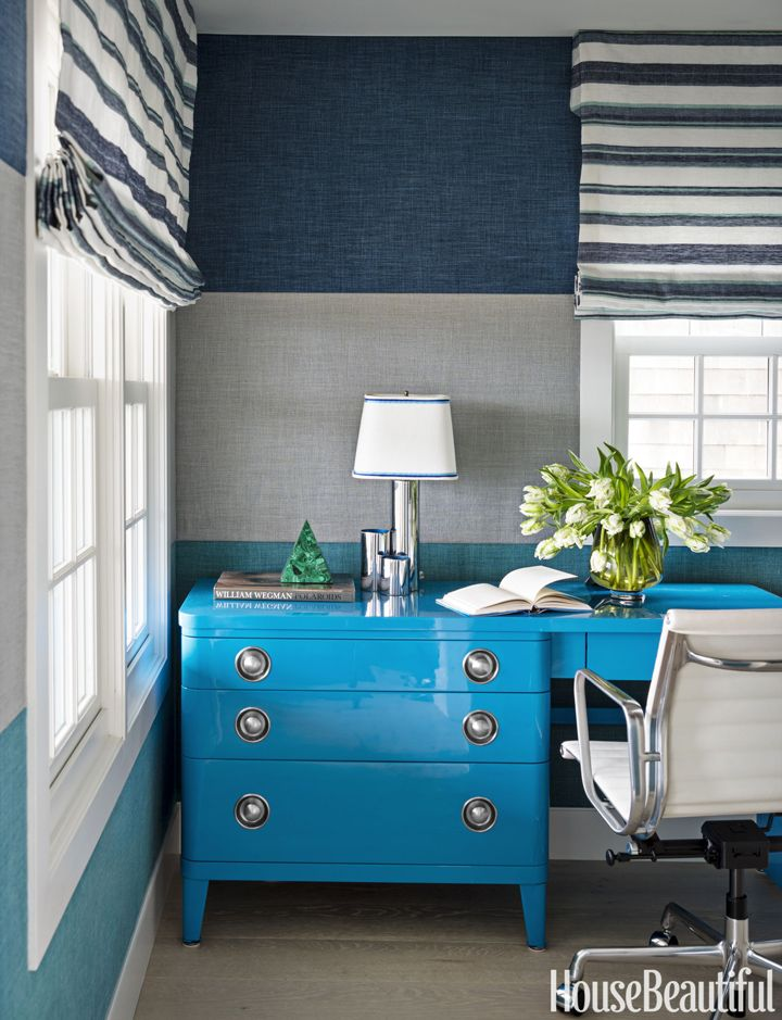 25 Best Ideas About Blue Desks On Pinterest Teal Desk