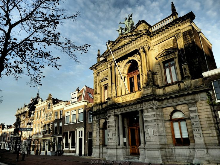 Teylers Museum aan het Spaarne Haarlem