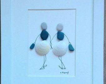 pebble art girlsfriendship gift gift for girl by pebbleartSmiljana